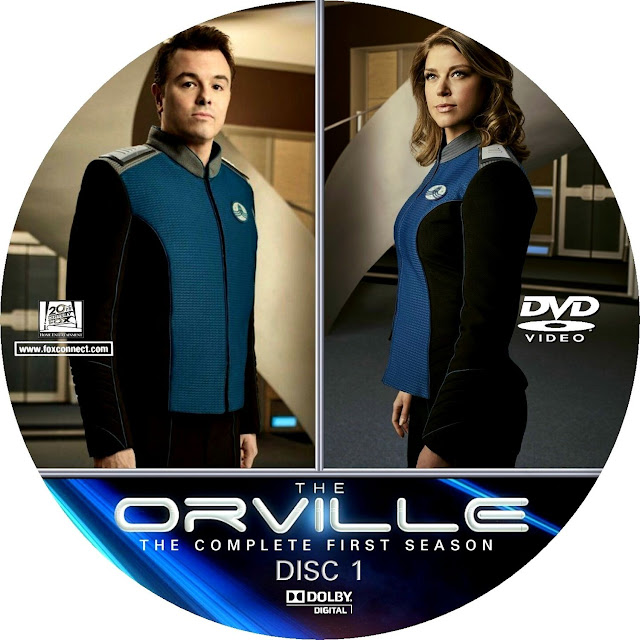 The Orville Season 1 Disc 1 Label Cover