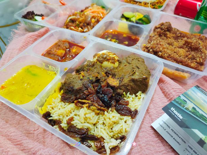 Dinner Menu DRIVE-THRU 3.0 dari Thistle Johor Bahru