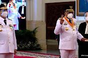 Sah ! Presiden Jokowi Lantik ODSK Gubernur dan Wakil Gubernur Sulut Periode 2021 - 2024