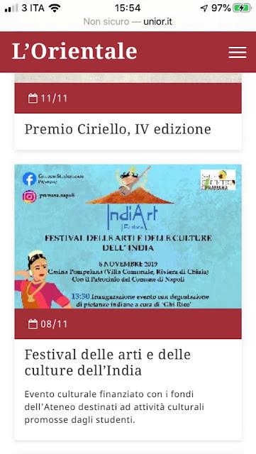 Danza Casina Pompeiana Napoli