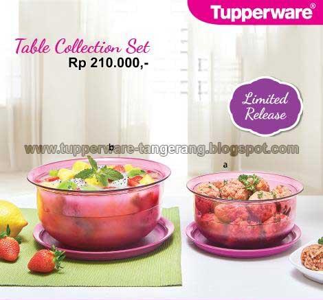 Table Collection Set - Tupperware Tangerang, Pendaftaran ...