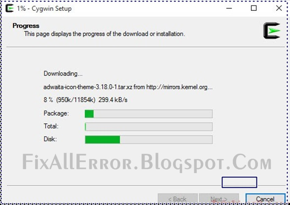 How to Create Offline Installer for Cygwin Latest Tricks