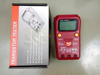 BSide ESR02-PRO Transistor tester