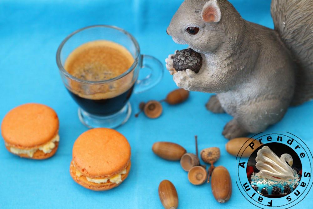 Macarons au nougat