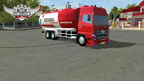Mod Truck Tangki Hino 500 NG HSD Pertamina