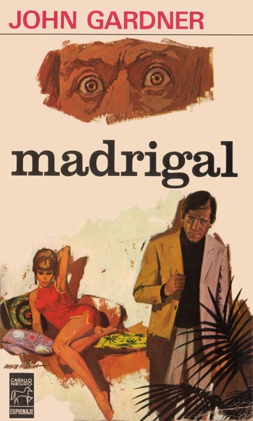US edition of Madrigal with vintage art style