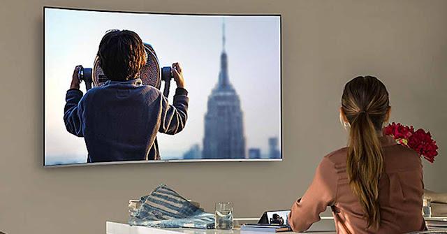 Smart Tivi SAMSUNG 4K  55 Inch UA55NU8500KXXV