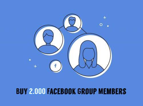 Buy 2000 Facebook Group Members