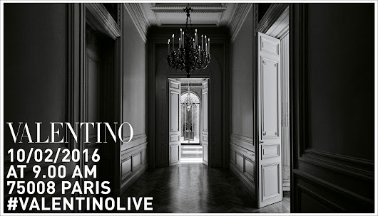 Walk the Walk: Valentino S/S 2017 Livestream