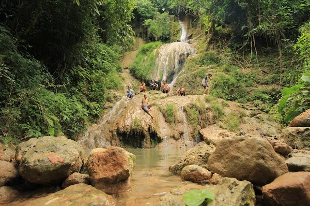 The Enchantment of the Beautiful Kedung Peti Waterfall in Bojonegoro