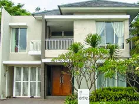 50 model desain rumah minimalis 2 lantai for Minimalist house jakarta