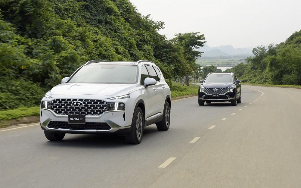 Doanh số xe Hyundai tháng 6/2021: SantaFe giữ vững phong độ ấn tượng