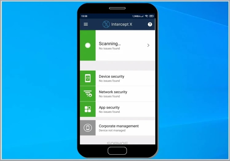Sophos Intercept X for Mobile : Κορυφαίο δωρεάν πρόγραμμα προστασίας για κινητά Android