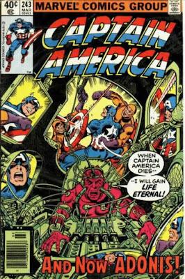 Captain America #243