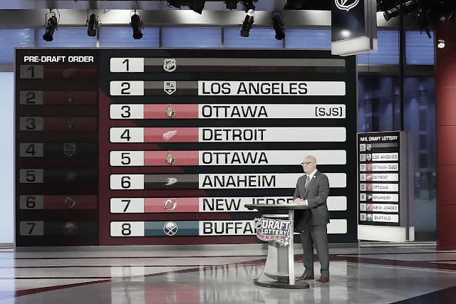 El pick 1 del NHL Draft 2020 será para una de las franquicias de la Ronda Clasificatoria