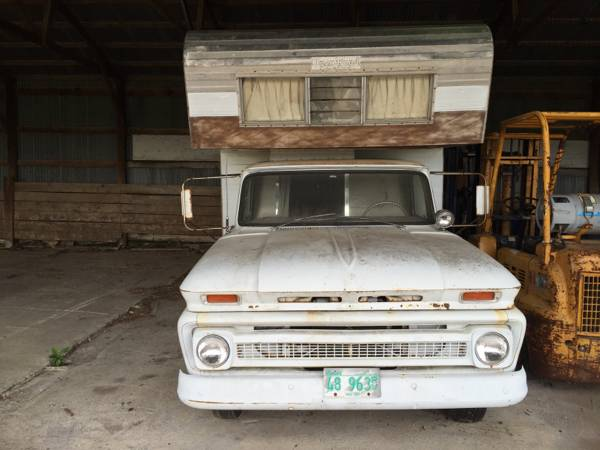 Used RVs 1965 Chevy C30 Open Road Camper Project For Sale ...
