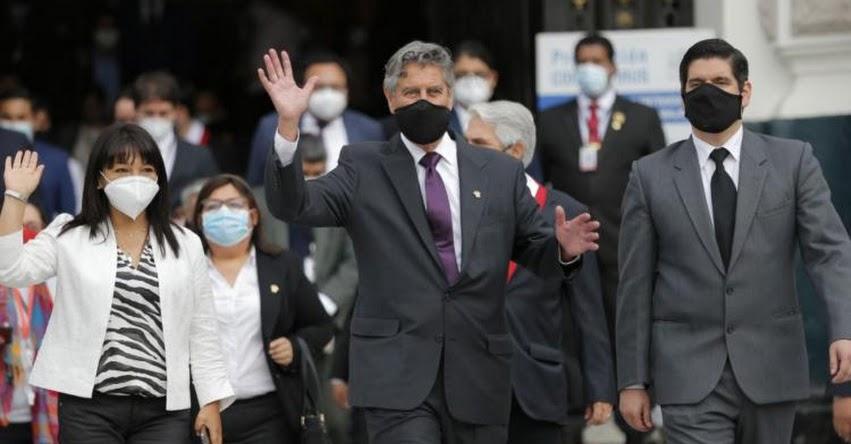 NUEVOS MINISTROS DEL GOBIERNO DE FRANCISCO SAGASTI: Afirma que apostará por gabinete plural, eficiente y honesto