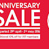 29 April - 2 May 2016 Mothercare, ELC & Gingersnaps Anniversary Sale 2016