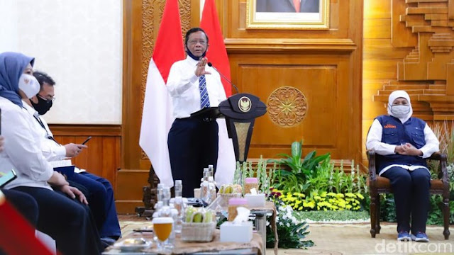 Menkopolhukam RI Mahfud MD: Pemerintah Menolak Menolak Trisila, Ekasila (RUU HIP)