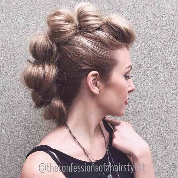 Bobby Pin Hairstyles The Haircut Web
