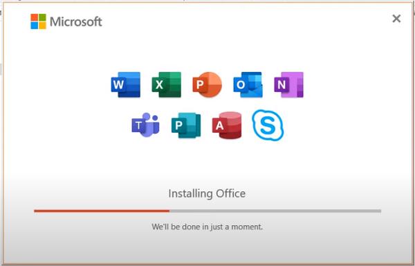 Hướng dẫn cài đặt Office 365 c