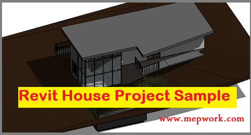 Download Revit House Project Sample for Practice