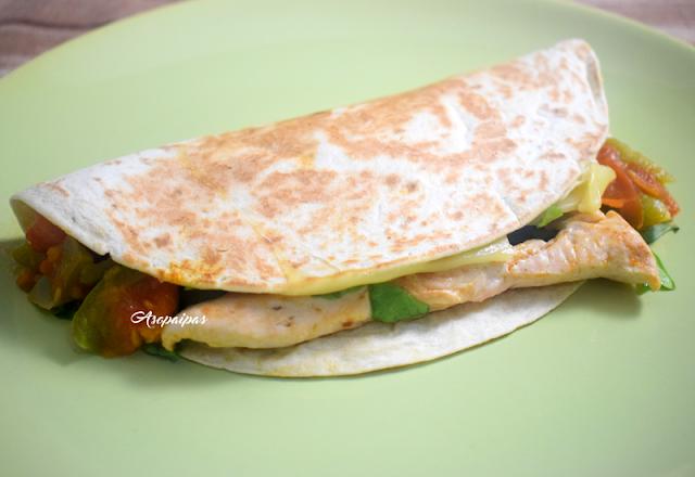 Tacos de Pollo y Queso Cheddar. Vídeo Receta