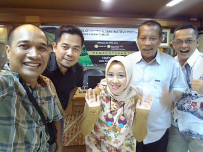 Wefie bersama perwakilan DPD Jawa Barat setelah acara musyawarah pembentukan DPC wilayah Priangan Timur.