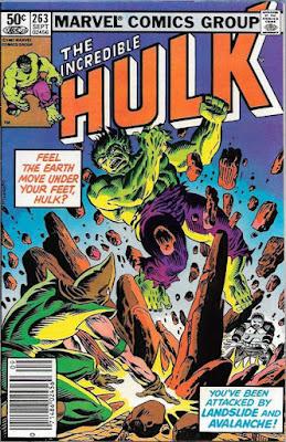 Incredible Hulk #263, Avalanche and Landslide