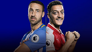 Brighton v Arsenal 4-3-3 Predicted lineup, Preview and Team news