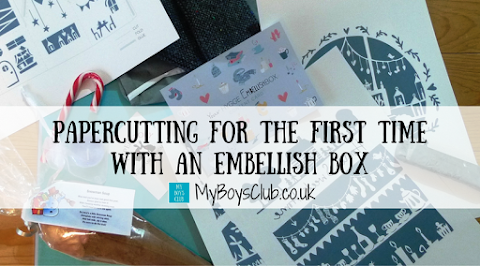 Papercutting for the first time with an Embellish Box (REVIEW)