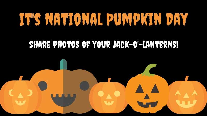 National Pumpkin Day Wishes Awesome Picture