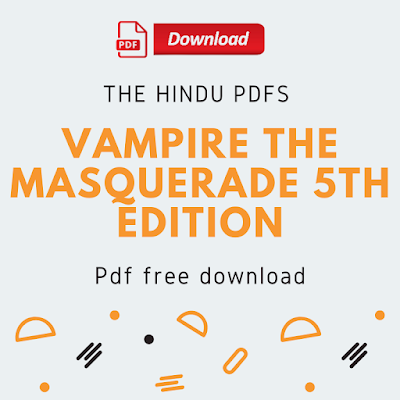 Vampire The Masquerade 5th Edition Pdf Free Download