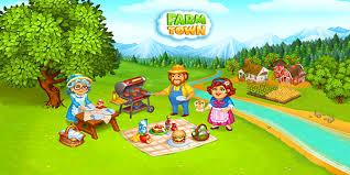 تحميل لعبة Farm Town  موارد مضاعفة اخر إصدار للأندرويد و الايفون