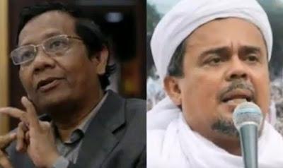 Apakah Rizieq Shihab Pergi atau Diusir Pemerintah  Ini Penjelasan Mahfud MD