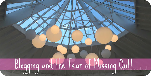 blogging and the fear of missing out #blogging #bloggingtips #problogger