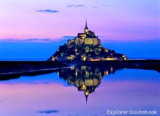 Pulau Mont Saint Michel Perancis