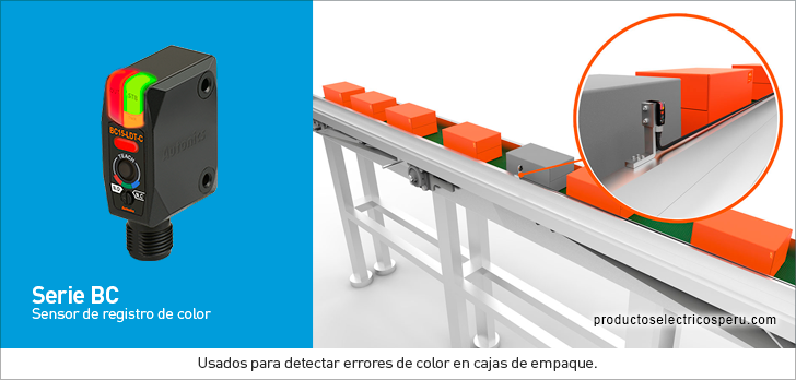 Sensor fotoelectrico Serie BC - Autonics Peru