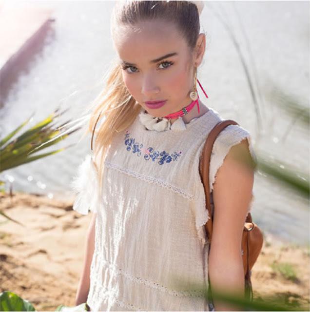 Blusas de moda para niñas primavera verano 2018.