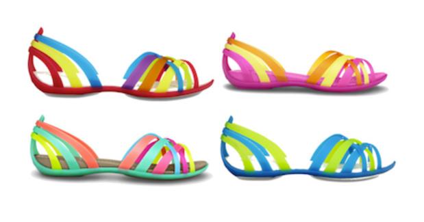 sandale huarache de crocs