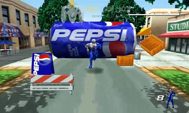 تحميل لعبة بيبسي مان Pepsi Man