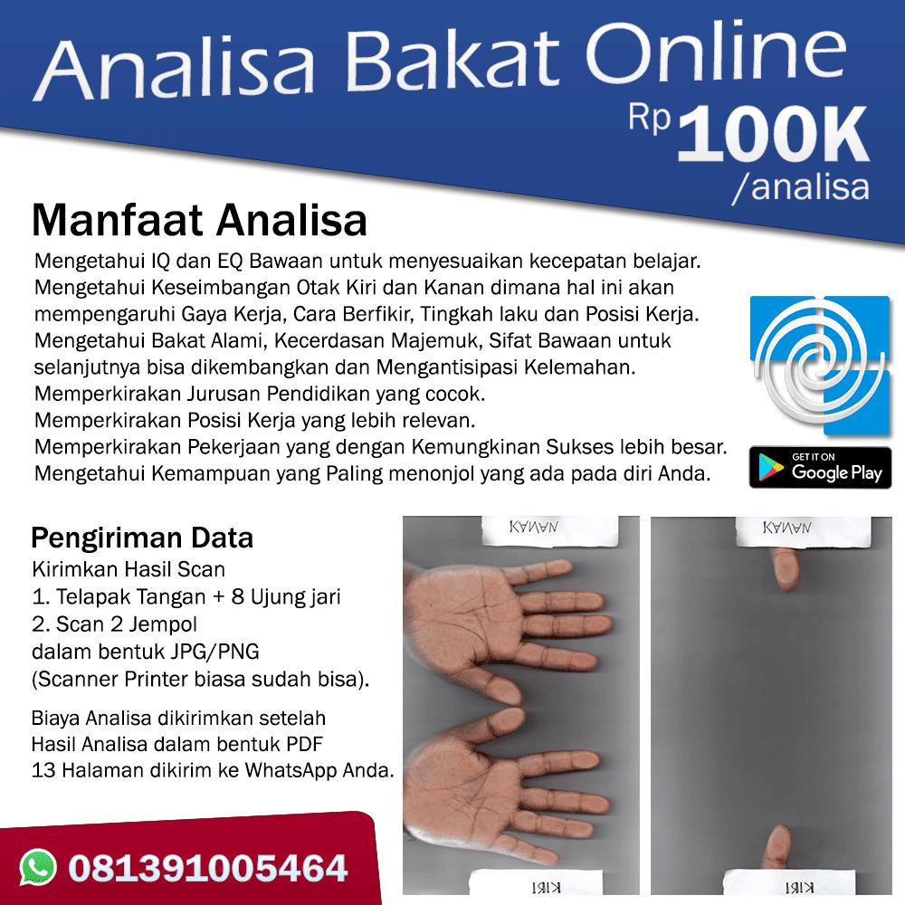 Analisa Bakat Online