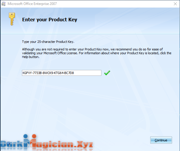 Microsoft Office 2007 With Serial Key