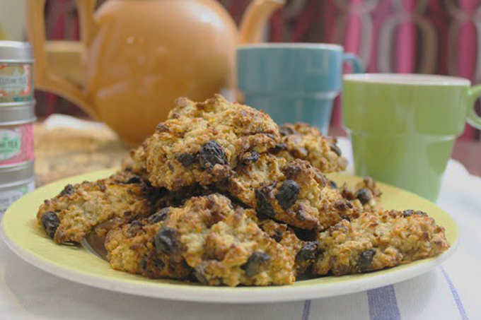 vegan orange and oat cookie recipe http://www.archieandtherug.com/