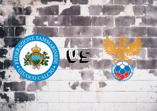 San Marino vs Rusia  Resumen