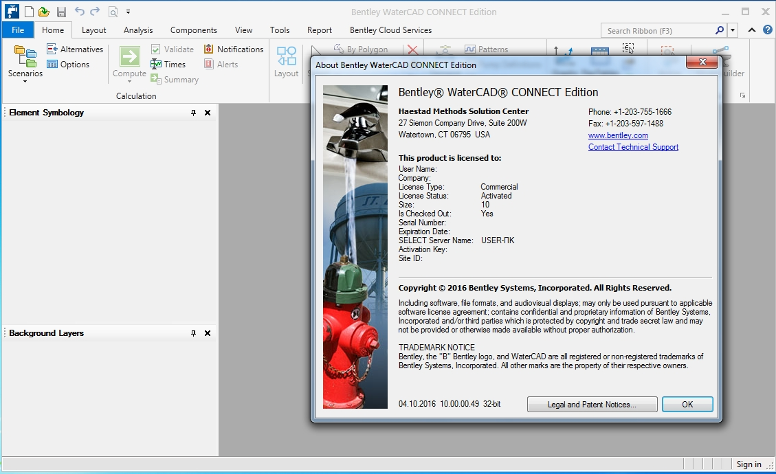 Bentley WaterCAD Connect Edition | the Home of GeoSociety
