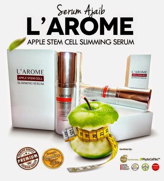 larome appple stem cell slimming serum