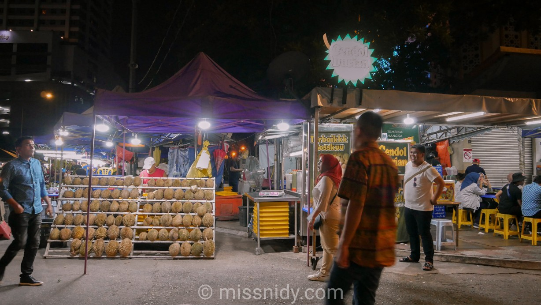 cendol durian runtuh chow kit kuala lumpur