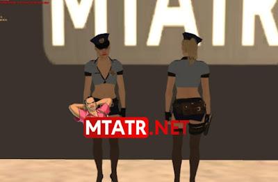MTA SA Claire Cop skin