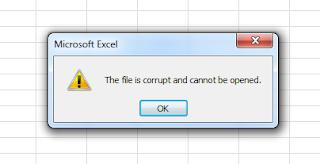 File Corrupt